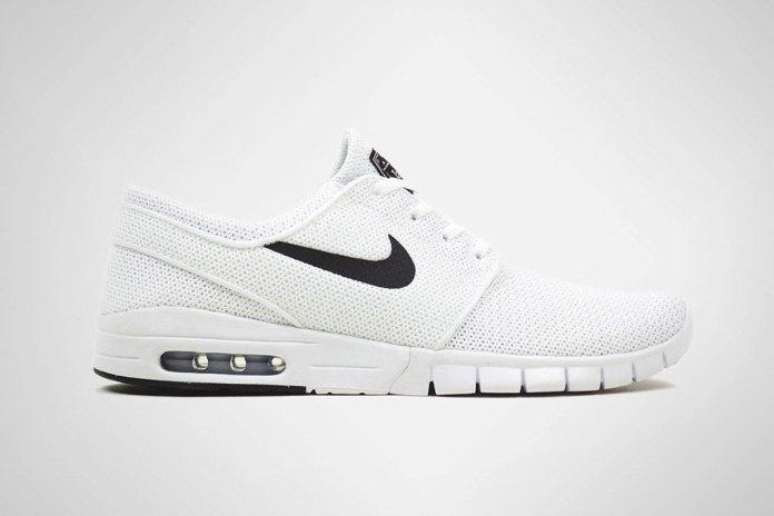 Nike SB Stefan Janoski Max White/Black