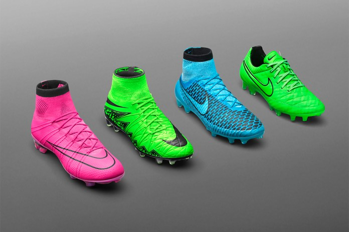 "Nike Soccer 2015 Fall ""Lightning Storm"" Pack"