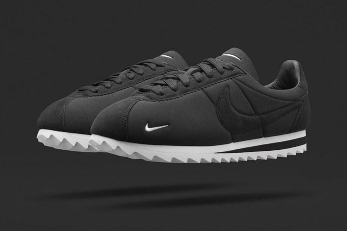 "NikeLab Classic Cortez ""Big Tooth"" Black/White"