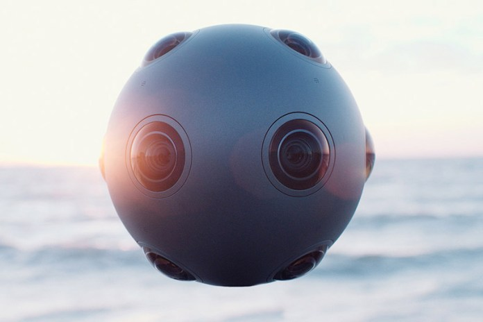 Nokia's OZO Virtual Reality Camera