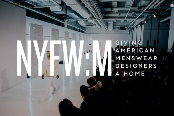 NYFW:M - Giving American Menswear Designers a Home