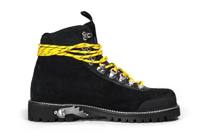 OFF-WHITE c/o Virgil Abloh 2015 Fall/Winter Black Boots