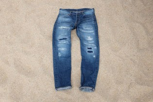 Okayama Denim x Japan Blue 16.5 oz Distressed Selvedge Denim