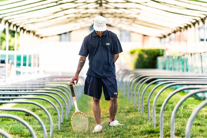 "Packer Shoes x International Tennis Hall of Fame x Ebbets Field Flannels x FILA ""ATP Newport"" Pack"