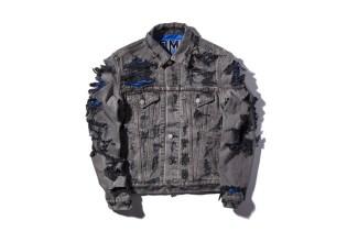 Phenomenon Distressed Reversible Denim Jacket