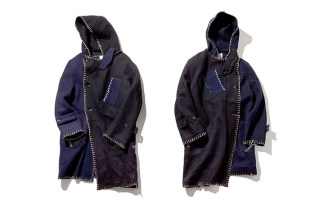 Porter Classic Two-Tone Duffel Coat