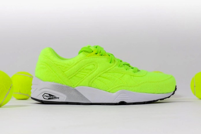 """PUMA Releases """"Tennis Ball"""" Colorway for R698 Silhouette"""
