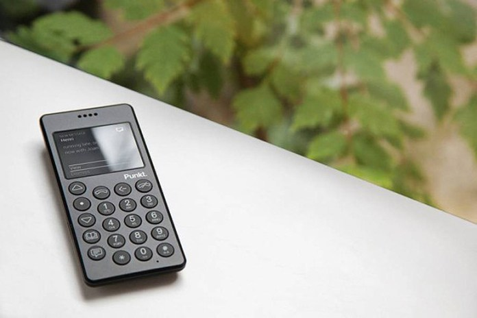 Punkt Introduces Minimalist MP01 Mobile Phone