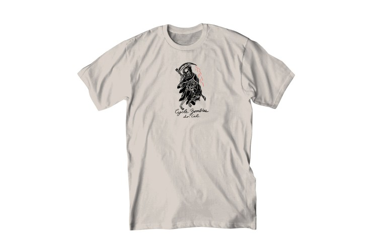 """Wes Lang x Cycle Zombies 2015 Spring/Summer """"REAPER"""" T-Shirt"""