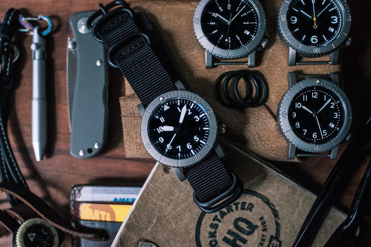 Redux COURG Titanium Hybrid Watch