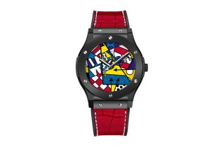 Romero Britto x Hublot Classic Fusion for the 2015 Only Watch Auction