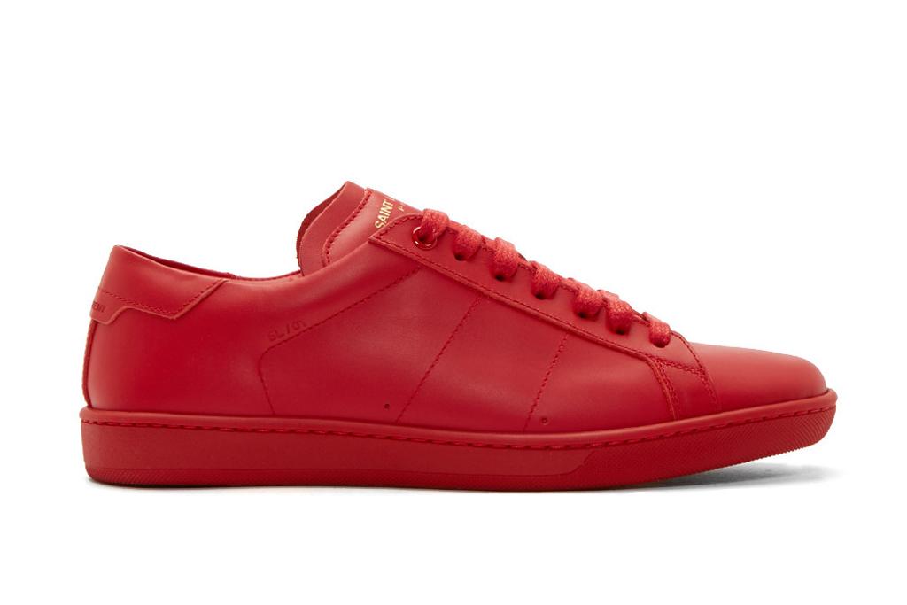 """Saint Laurent SL/01 Low-Top """"Red"""""""