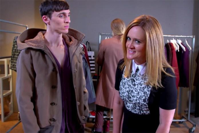 Samantha Bee Trolls Male Models at New York Fashion Week: Men's