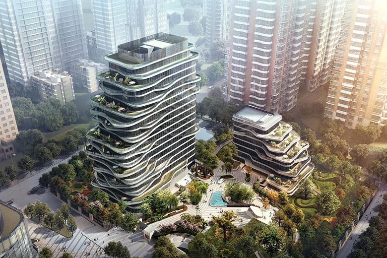 Smart-Hero Central Park Plaza Residences in Beijing, China