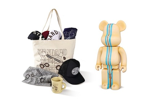 Standard California x BE@RBRICK Capsule Collection