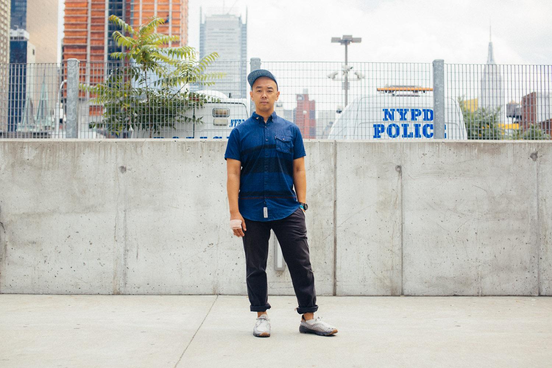 Streetsnaps: jeffstaple at Agenda New York