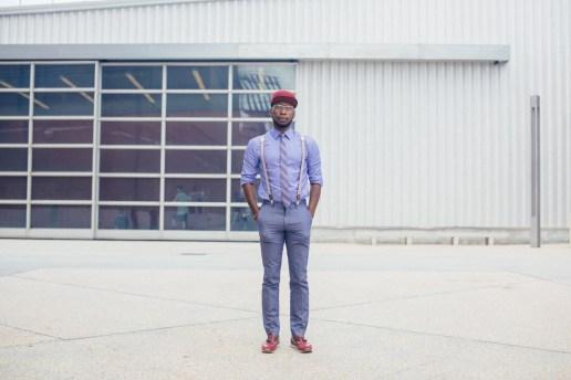 Streetsnaps: Josh Johnson at Agenda New York