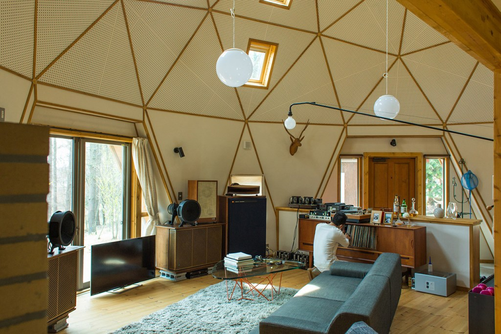 Take A Look At The Rural Geometric Cabin Of Renowned