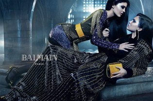 The Jenner Sisters Headline Balmain's 2015 Fall Campaign