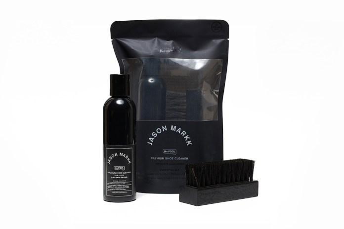 """the POOL aoyama x Jason Markk """"MELANISM"""" Shoe Cleaner Kit"""