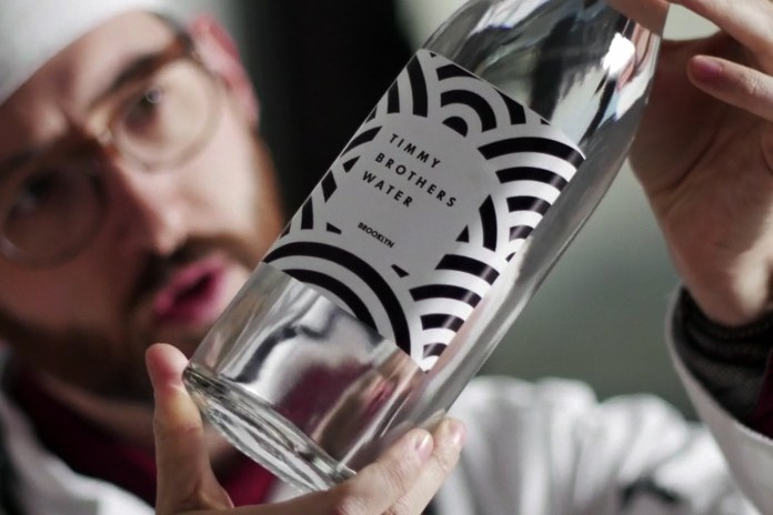 The Timmy Brothers Introduce Bespoke Drinking Water