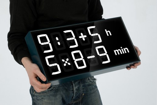 This Clock Makes You Solve Math Equations for the Time