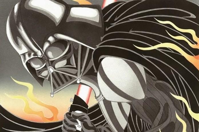 This Is 'Star Wars' as Reinterpreted by Japanese Woodblock Printing Artisans
