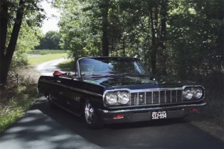 This Man Owns Two '64 Chevrolet Impalas and Restored Them Himself