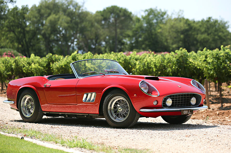 Trio of Rare Ferraris up for Multi-Million Dollar Auction