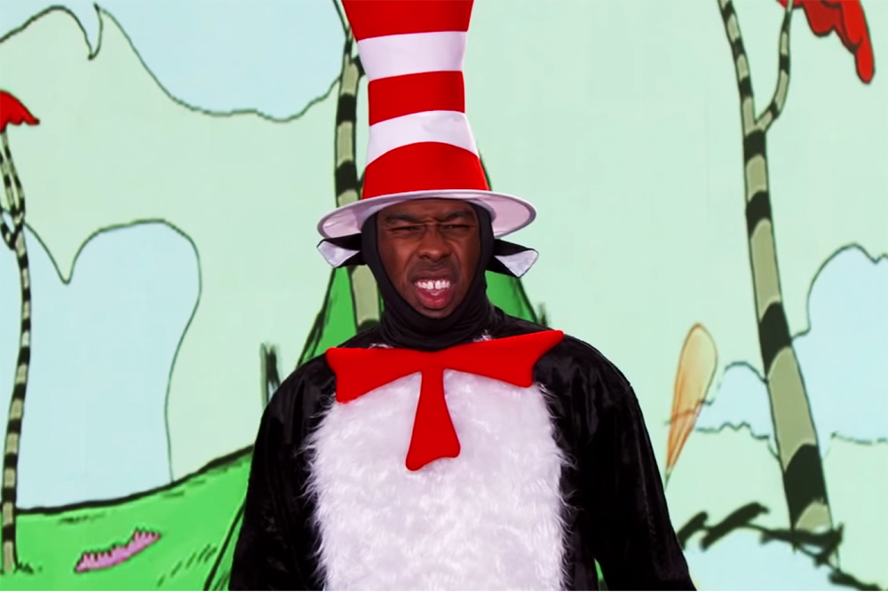 Tyler, The Creator Raps Dr. Seuss for Jimmy Kimmel