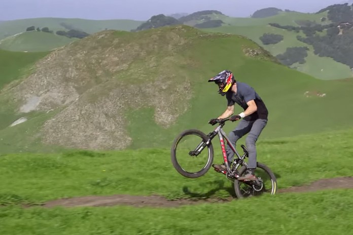 Watch Brandon Semenuks Conquer a Mountain Bike Trail in One Continuous Shot