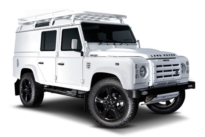Watch How Twisted Build Their Custom Land Rover Defenders