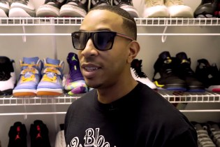 Watch Ludacris Give a Guided Tour of His Sneaker Closets