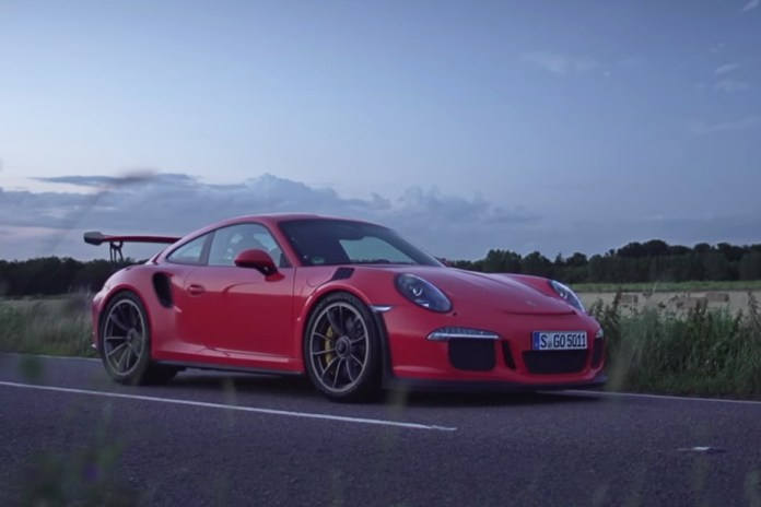 Watch the Porsche 911 GT3 RS Blast Through Country Roads at Sunrise