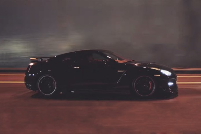 Nissan GT-Rs Rip Through a Touge Course in 4K