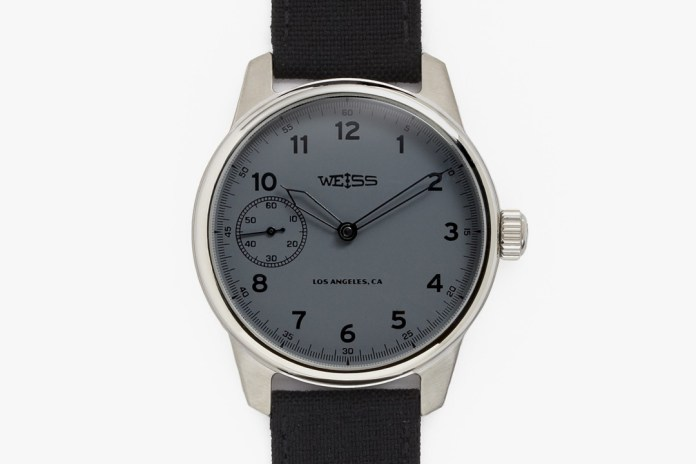 "Weiss Special Issue Field Watch ""Carbon Dial"""