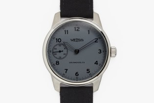 """Weiss Special Issue Field Watch """"Carbon Dial"""""""