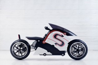 zecOO Electric Motorcycle by Japanese Designer Kota Nezu