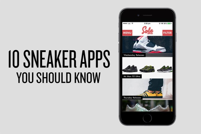 10 Sneaker Apps You Should Know