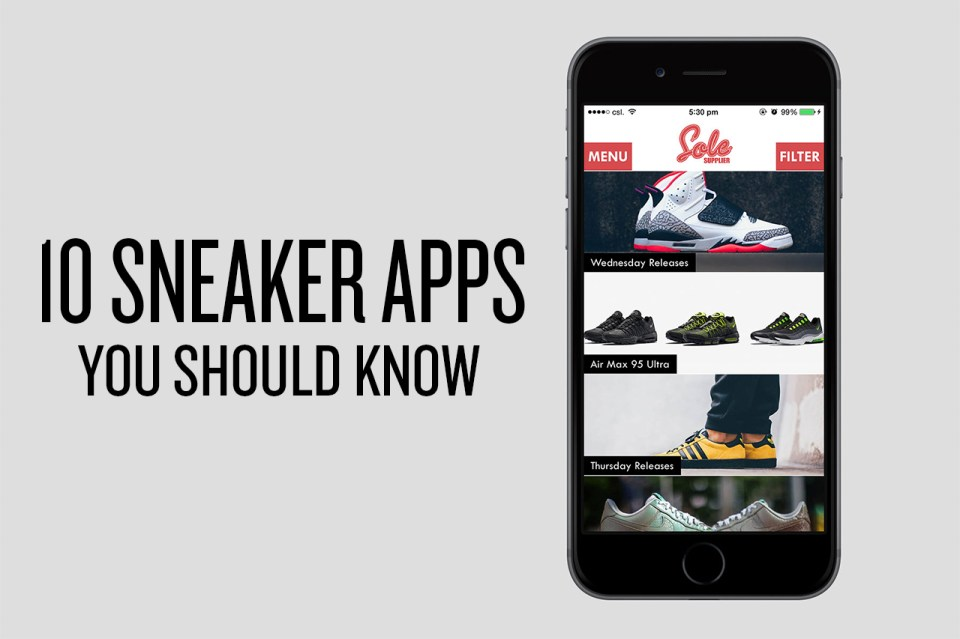 10 sneaker apps you should know hypebeast for Haute you should know
