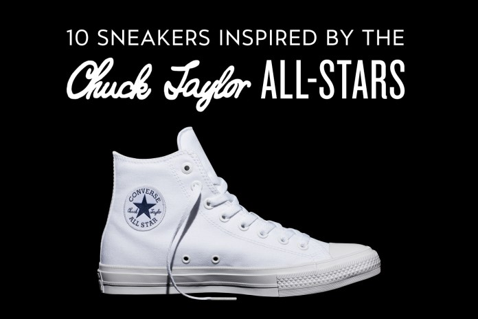 10 Sneakers Inspired by the Converse Chuck Taylor All-Stars