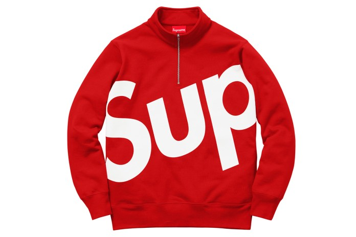 Supreme 2015 Fall/Winter Apparel Collection