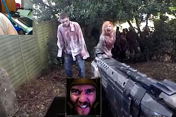 A Real Life First-Person Video Game Created With Chatroulette