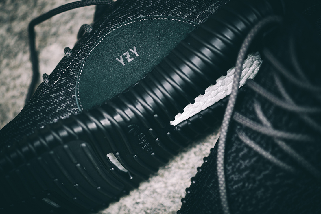 a closer look at the adidas originals yeezy boost 350 pirate black