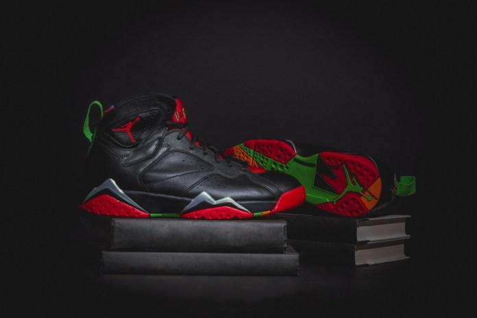 "A Closer Look At The Air Jordan 7 Retro ""Marvin The Martian"""