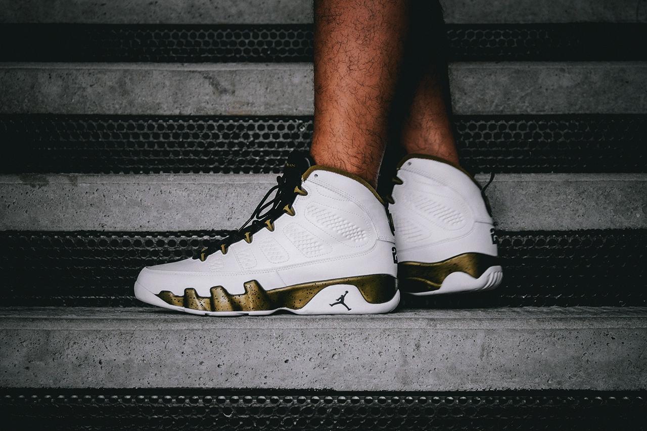 """A Closer Look at the Air Jordan 9 Retro """"Statue"""""""
