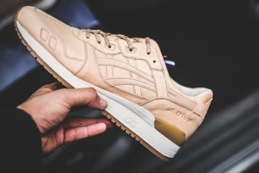 A Look at How the Vegetable Tanned ASICS GEL-Lyte IIIs Are Made