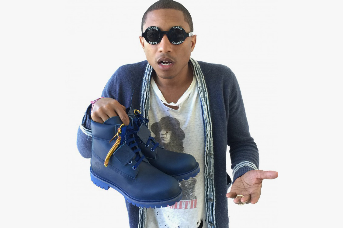 """A First Look at Pharrell's Bee Line x Timberland """"The Blue Boot"""""""