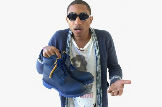 "A First Look at Pharrell's Bee Line x Timberland ""The Blue Boot"""