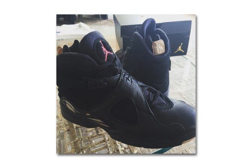 A First Look at the OVO x Air Jordan 8 Collaboration